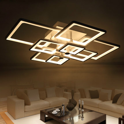 Modern Led Ceiling Lights For Living Room Acrylic Led Luminaire Indoor Lamp  Lighting Lustres De Sala Ceiling Lamp Bedroom In Ceiling Lights From Lights  ...