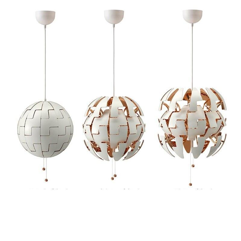 Deformation Ball LED PVC Pendant Lamp (3)