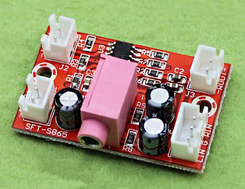 Free Shipping!!! LM4863 Fever 5V Mini Power Amplifier Board / 2x3W Dual Channel / Hifi Amp Board / Charger Power Supply