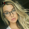 Классический Женщин Круглые Очки Рамка Марка Дизайнер Мужская Мода Ногтей Украшения Оптические Очки Очки Для Чтения