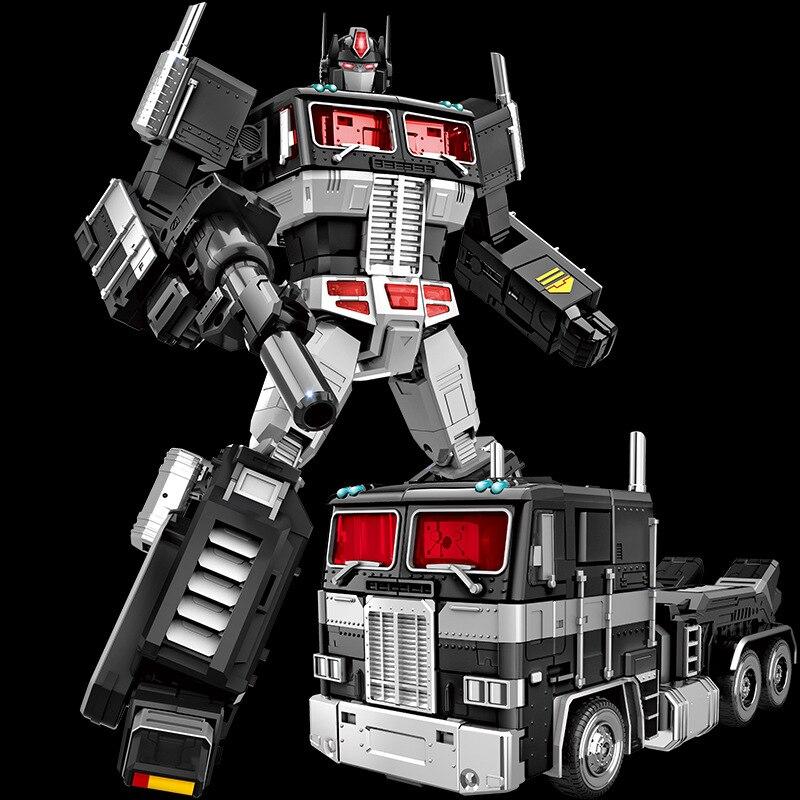 32Cm alliage Version déformation voiture Robot Transformation jouets Anime Version figurine Robot modèle enfants cadeau présent