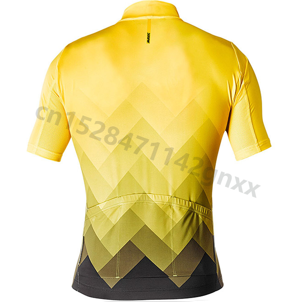 Mavic Mountain Bike Cycling Jersey Shirt Summer Breathable Cycling Clothing Pro Team MTB Bicycle Jerseys Top Maillot Ciclismo in Cycling Jerseys from Sports Entertainment