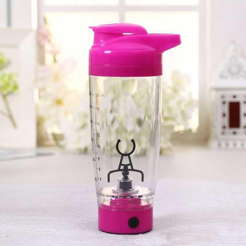 Automatización eléctrica protein Shaker Blender tornado nutrición mezclador botella fitness movimiento café leche mezclador inteligente Vasos y copas
