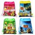 Children school bag cartoon backpacks child mochila infantil kid bag little yellow man backpacks school bags drawstring &88250