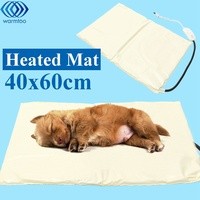 40X60CM Heating Pad Heater Pet Electric Blanket Dog Cat Warmer Mat Adjustable Temperature 35W 220V