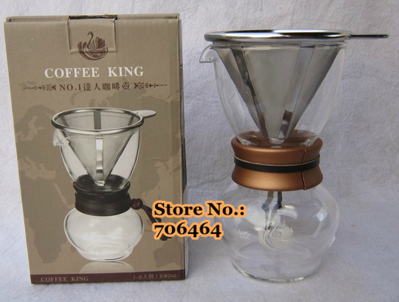 Aliexpress.com : Buy Stainless steel filter coffee dripper/coffee driper 480cc Simple design ...