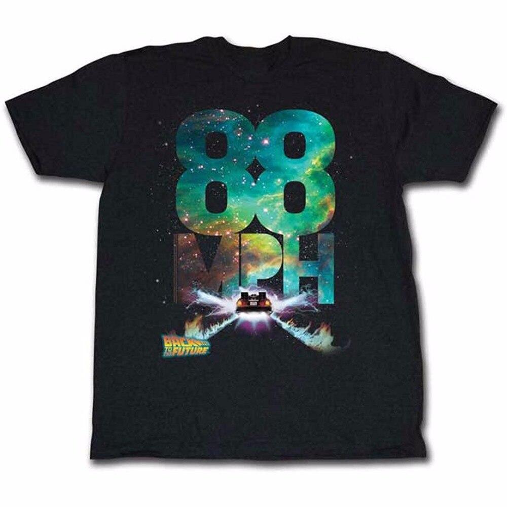 T Shirt Design Website Short Back To The Future Mens Profilin T-Shirt S To 3XL Black Crew Neck Fashion 2018 Tees For Men