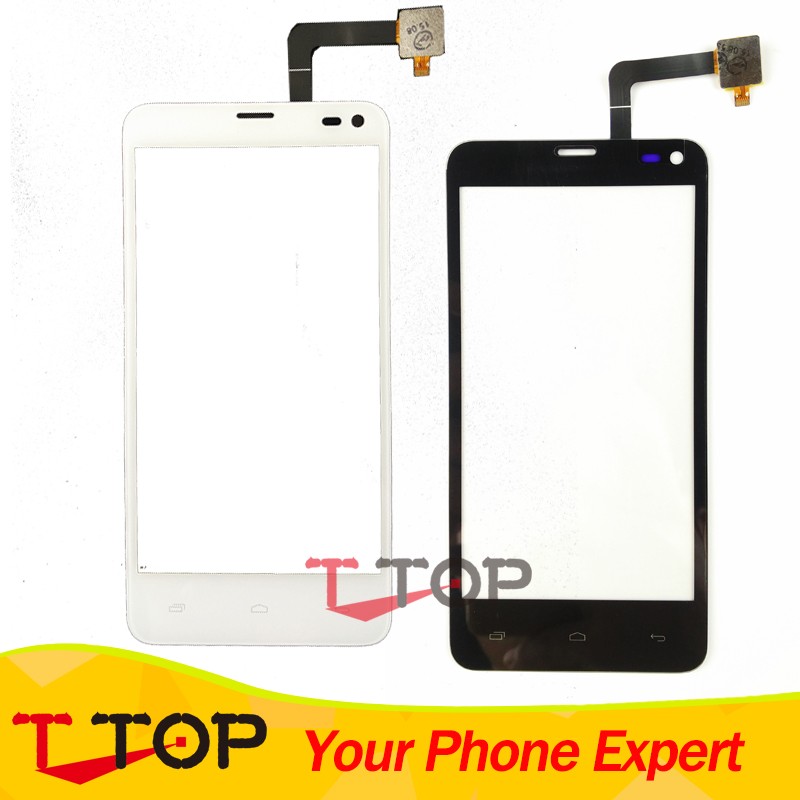 Wholesale For Fly IQ4416 ERA Life 5 Touch Screen Digitizer Replacement Black White Color 10PCS/Lot