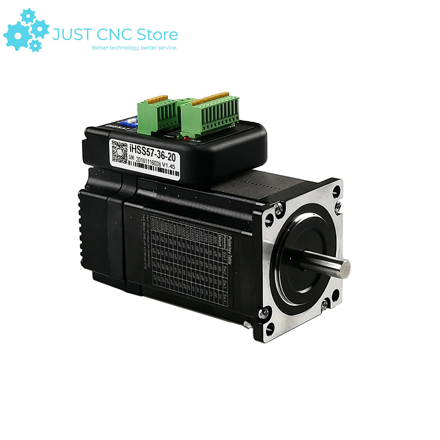 Nema 23 Servo motor 2Nm Integrated Closed Loop Stepper motor with driver 36VDC JMC iHSS57 36 20 in Stepper Motor from Home Improvement