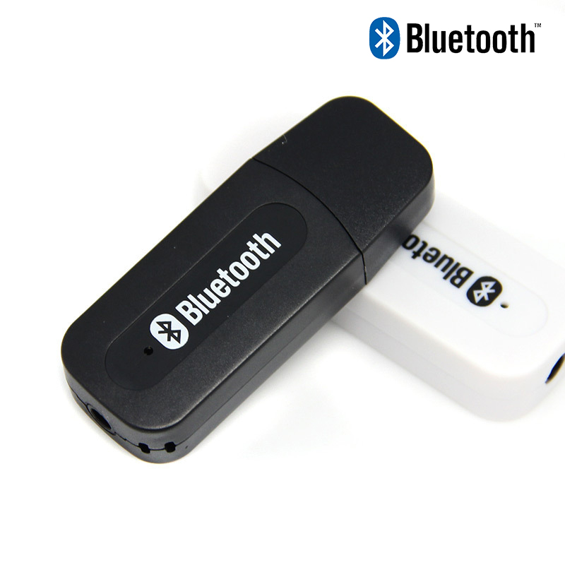 C181 USB Bluetooth AUX Wireless Dongle Car Kit Audio Receiver A2DP Stereo Music Receiver 3.5mm Jack Adapter For Home Speaker