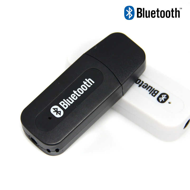 C181 USB Bluetooth Aux Dongle Nirkabel Mobil Kit Audio Receiver A2DP Musik Receiver 3.5 Mm Jack Bluetooth Adapter untuk Rumah speaker