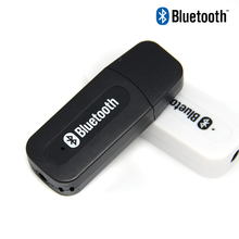 цена на C181 USB Bluetooth AUX Wireless Dongle Car Kit Audio Receiver A2DP Stereo Music Receiver 3.5mm Jack Adapter for Home Speaker