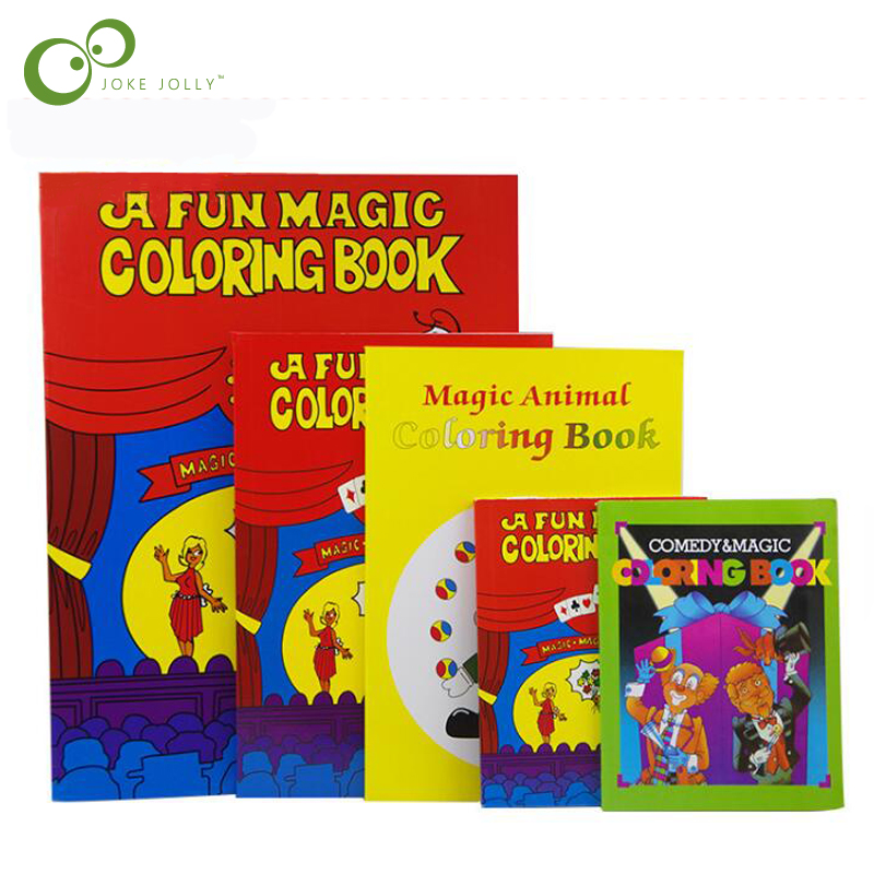 A Fun Magic Coloring Book Magic Tricks Cards Best For Kids Magie Book Stage  Prop Gimmick Mentalism Funny WYQ