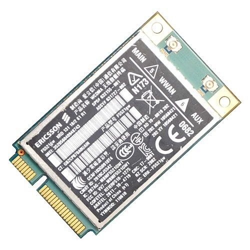 Unlocked F5521GW Wireless 3G WWAN HS2340 HSPA+ 21Mbps PCI-E Card Sps 632155-001 For Ericsson HP 2760P 8460W 8760W 2560 F5521