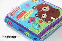 1 teile/los Winnie zählen säugling baby lernspielzeug ring papier tuch buch Kissen Märchenbuch, Tuch bücher, eltern Englisch Version