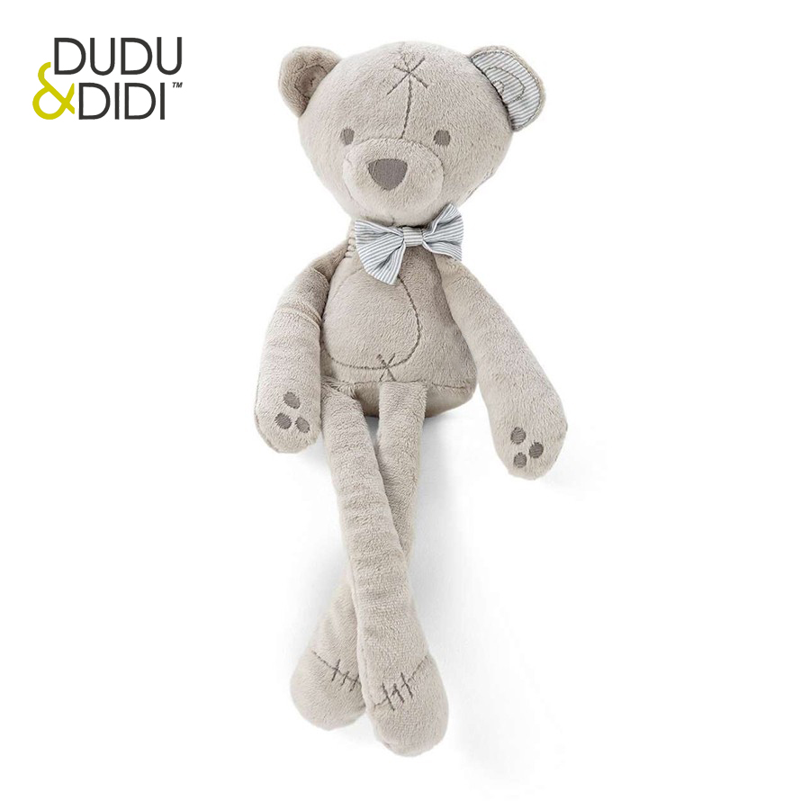 35cm Baby plush bear sleeping comfort doll plush toys Millie & Boris Smooth Obedient bearSleep Calm Doll - WJ190 beanie babies yo gabba gabba plex 35cm plush toys