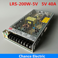 LRS 200W Switching Power Supply 200W 5V Driver for LED Strip AC Input to DC 5V 40a 200w Power adapter