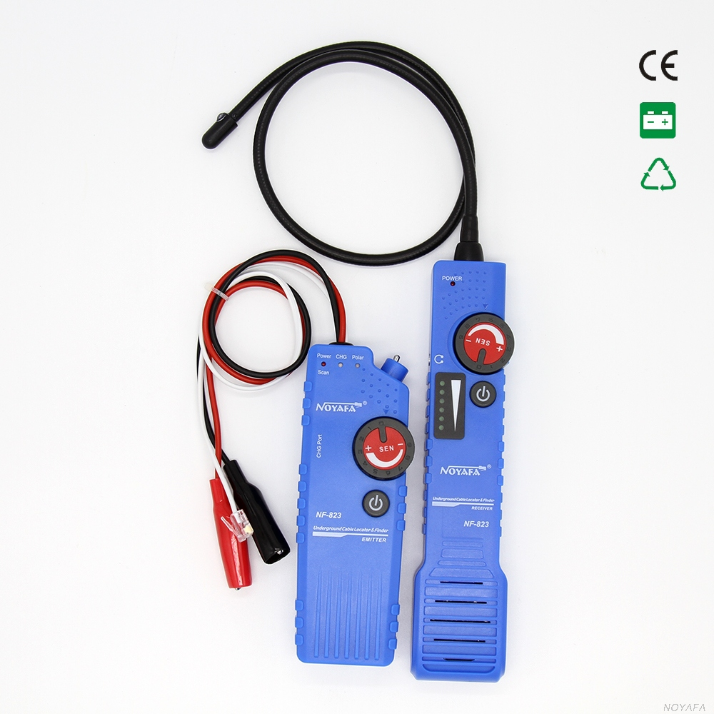 Free shipping ! NOYAFA Underground Wire Locator Pipe locator 0-1m cable trace lan finder store locator