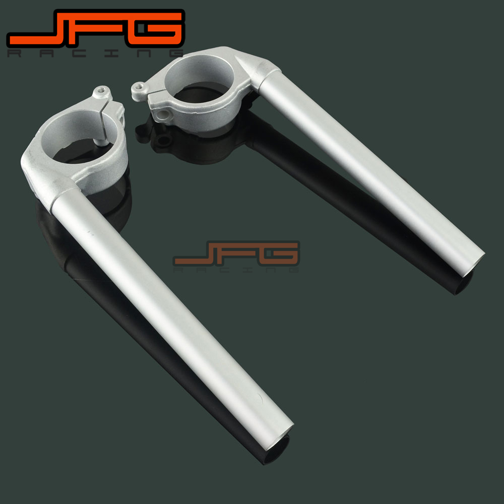 Motorcycle Handlebar Clip Ons Handle Bar Grips For YAMAHA YZFR1 YZF R1 YZF-R1 2004 2005 2006 2007 2008 04 05 06 07 08
