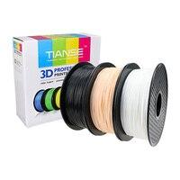 3D Filament 1.75mm 400M long Elastic printing consumables material for 3D printer 3D pen soft rubber plastic TPU Flexible