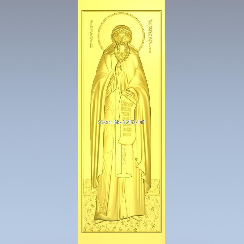 High quality 3d model relief  for cnc or 3D printers in STL file Sergius of Radonezh_1 martyrs faith hope and love and their mother sophia 3d model relief figure stl format religion for cnc in stl file format