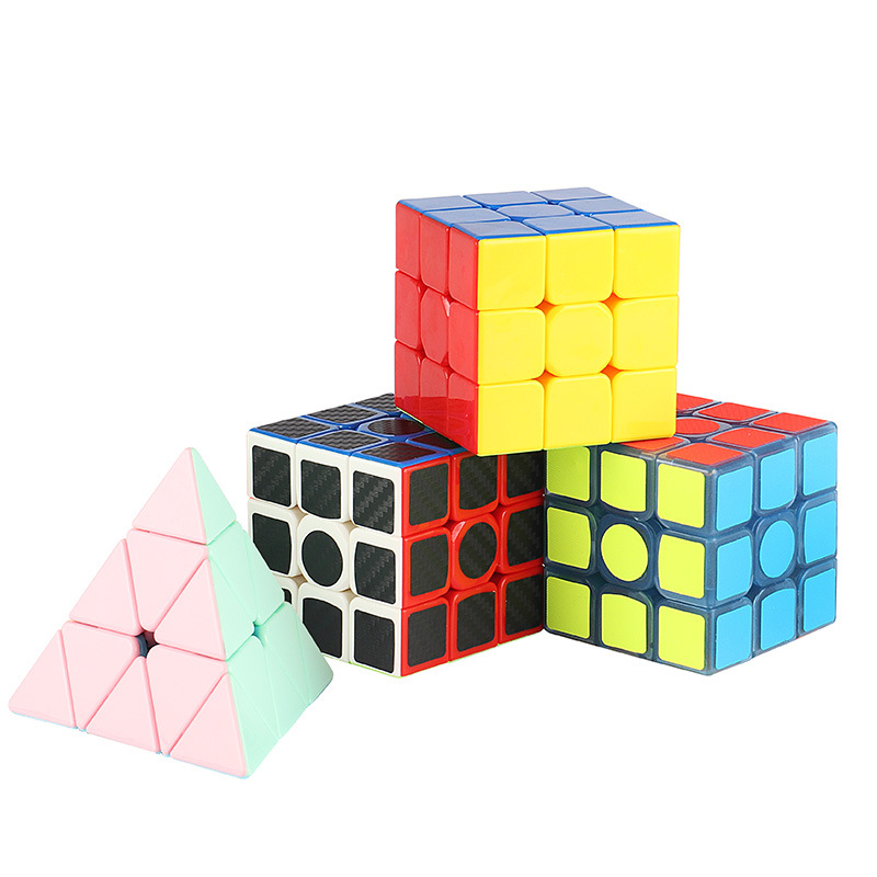 Magico Cubes Profession Luminous 3 Layer Cubo Speed Twist Puzzle Educational Toy Children Gift Stress Relief Desk Toy Fidget