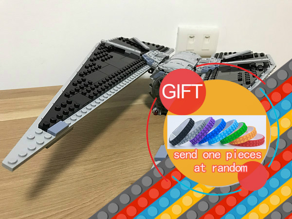 05048 543Pcs Star Seiers The TIE set Striker Set 75154 Educational Building Blocks Bricks War Model as Christmas Toys LEPIN lepin 05048 star series wars 543pcs the tie striker fighter model building blocks bricks toys compatible with 75154 children toy