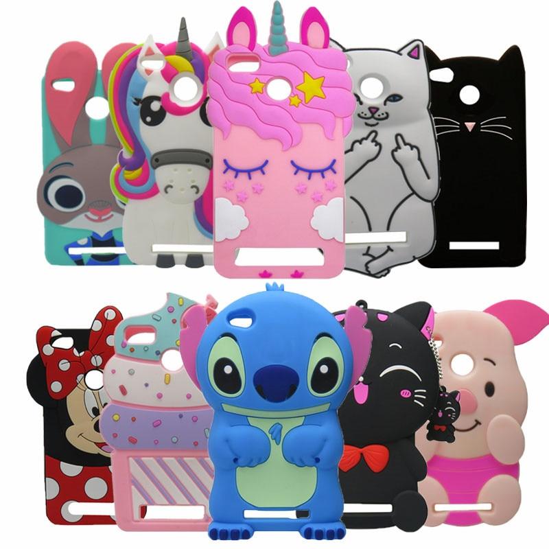 Galleria fotografica For Xiaomi Redmi 4X Cartoon 3D Black Cat silicone soft Case For Xiaomi Redmi 4X 4 X back Cover Redmi 4X Cover redmi 3X unicorn