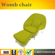 FGHGF U BEST Modern Designer Fabric Wool Lounge Leather
