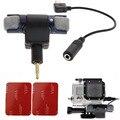 Оптовая Цена Продажи Горячих 3.5 мм Стерео Конденсаторный Микрофон для GoPro Hero 3 3 + 4 Микрофон Кабель-Адаптер