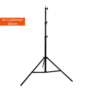 "Image 2 - 260cm Air Cushioned Heavy Duty Light Stand With Adaptor Also Support 1/4"" and 3/8"" Photo Equipment"