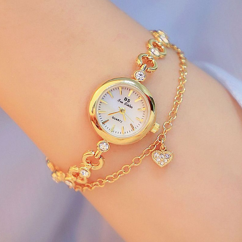 Top Brand Small And Elegant Ladies Small Dial Watch Women Bracelet Watc
