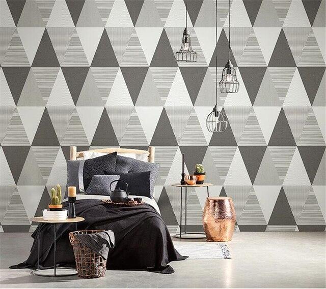 Beibehang Modern Kamar Tidur Ruang Tamu TV Latar Belakang Dinding
