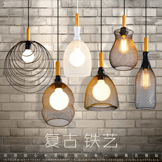 Loft Style Iron Wood Art Droplight Modern LED Pendant Light Fixtures For Living Dining Room Bar Hanging Lamp Indoor Lighting nordic loft style wood art droplight modern led pendant light fixtures for living dining room bar hanging lamp indoor lighting