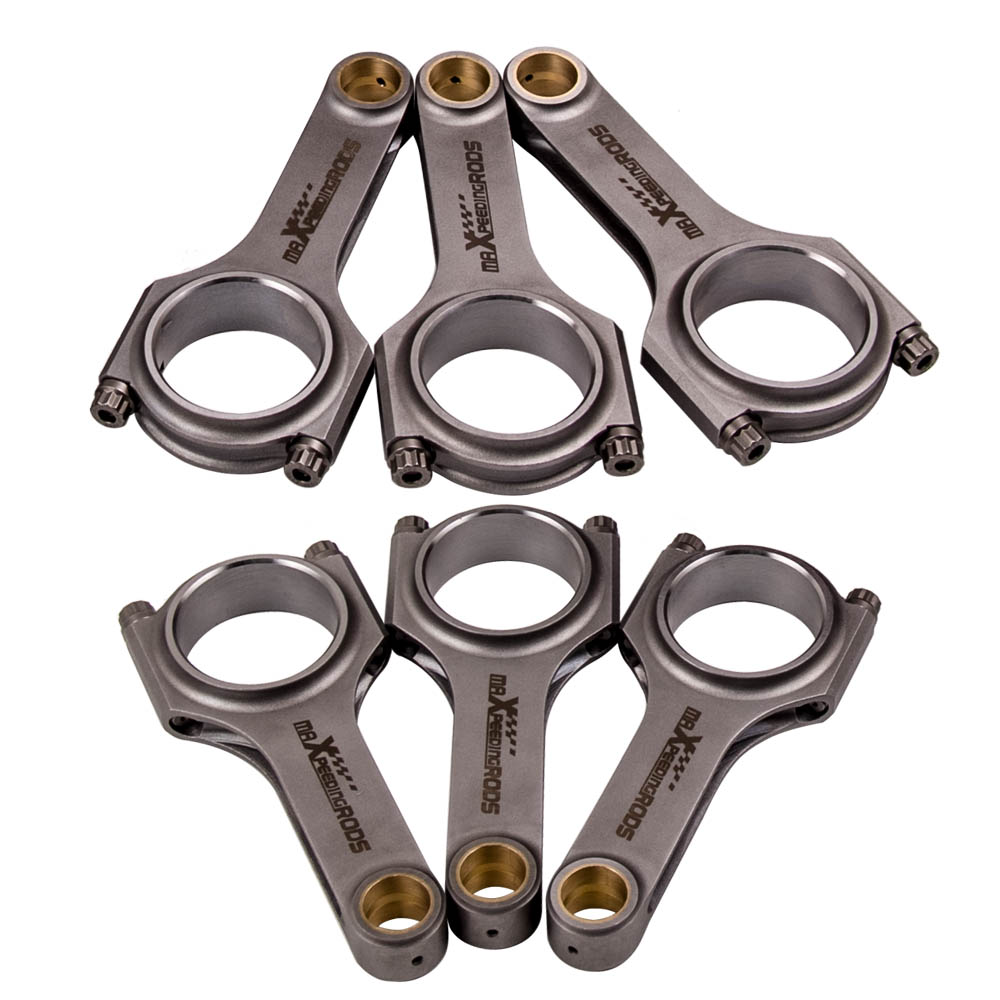 Performance H Schaft Pleuel Connecting Rod for BMW E36 S50B32 Turbo 139mm Bielle Conrod ARP 2000 139mm 4340 Forged H Beam