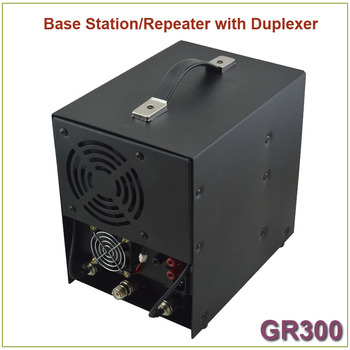 Brand New GR300 Two-way Radio Walkie Talkie  Base Station/ Repeater 350-390MHz 25Watts 8 Channels Repeater with Duplexer 5