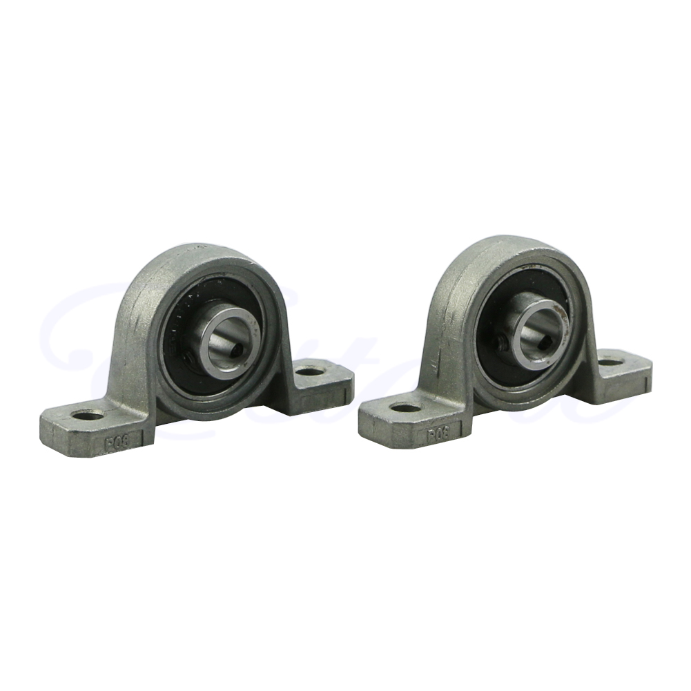 4pcs Zinc Alloy 8mm Bore Ball Bearing Pillow Block Mounted Support Kit M93
