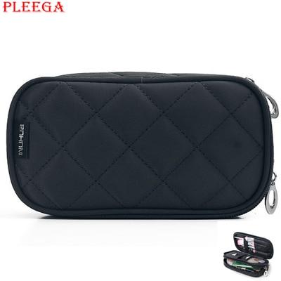 PLEEGA Portable Necessaries Women Make Up Organizer Case Beauty Bag Small Cosmetic Bags Professional Travel MakeUp
