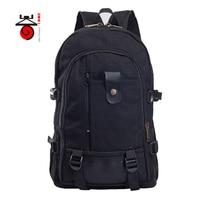 Multi Functional Men Backpack Male Canvas Bag Student Sports Backpacks Outdoor Travel Bag Camping Hiking Backpack