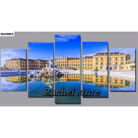 Diy Diamond Painting Cross Stitch Kits Diamond Mosaic Landscape multi painting Full Square Diamond Embroidery MHF2001