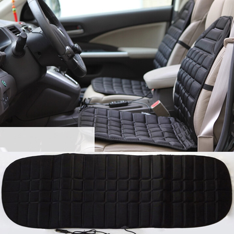 12v car heating Car seat covers 1 set, winter car seat cushion accessories supplies, heated blending keep warm seat cushion 12v electric car heated seat cushion cover auto heating heater warmer pad winter car seat cover supplies hight quality