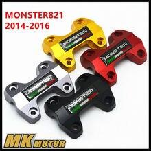 Бесплатная доставка Выноса Углерода эмблема для Ducati Monster 821 CNC Racing для Ducati Monster 821