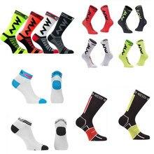 2019 Coolmax, calcetines de ciclismo para hombre y mujer, transpirables para deportes al aire libre, baloncesto, Running, fútbol, calcetines de verano para senderismo y escalada