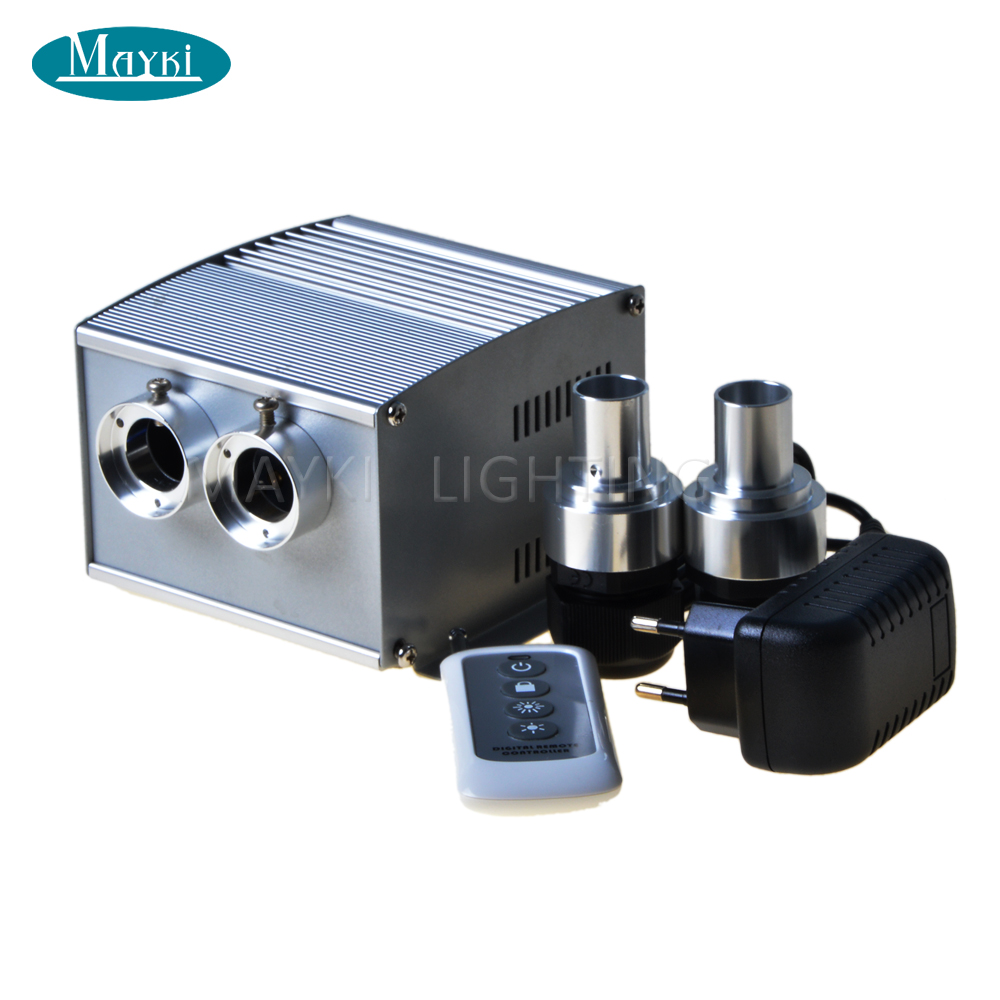 Maykit Led Engine Twinkle Sauna Light Fiber Illuminator 10w 6 Color Change Twinkle Color Wheel For