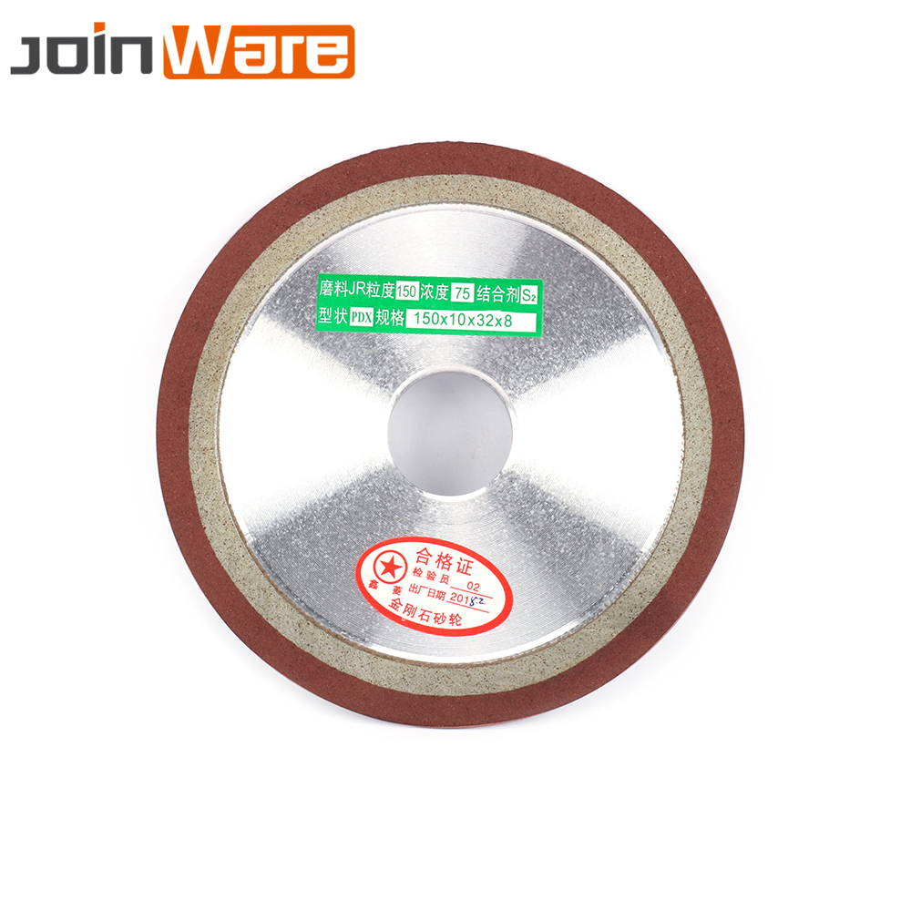 150mm Diamond Grinding Wheel Grinding Disc Wheel 400Grit For Milling Cutter Tool Power Tool Sharpener Grinder Accessories Tool