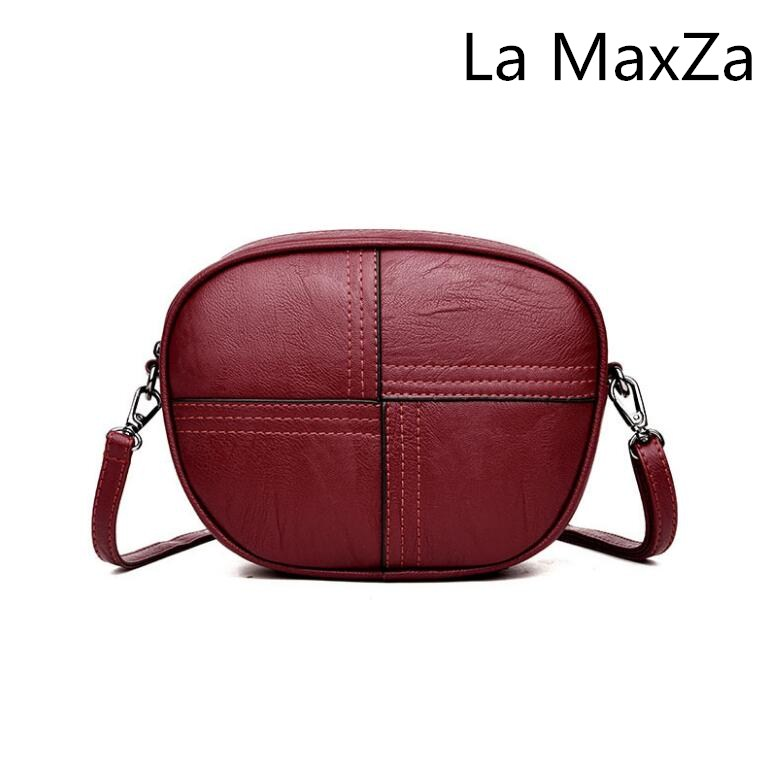 La MaxZa 2018 new handbag mini wild round package fashion simple Messenger bag