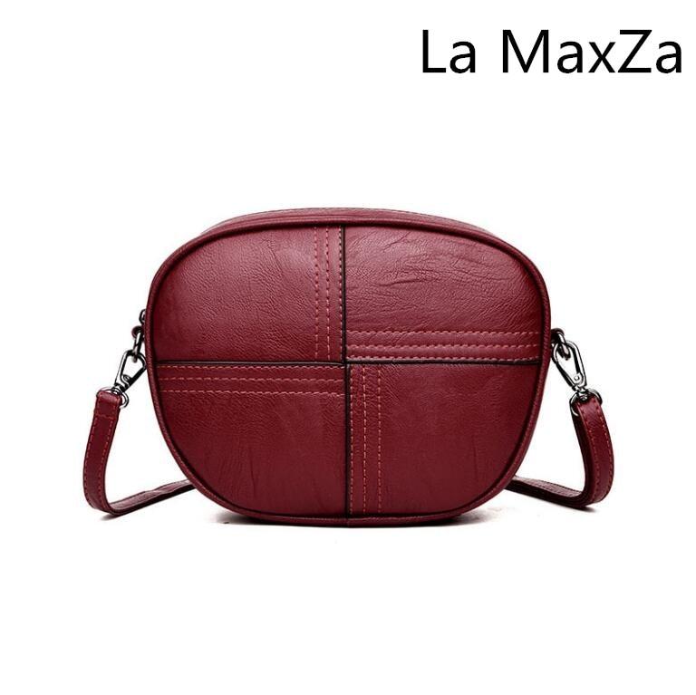 La MaxZa 2018 new handbag mini wild round package fashion simple Messenger bag