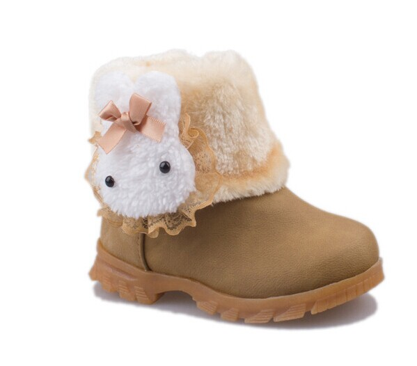 bdcd41eb07211 childrens boots kids shoes for little girl boots Cute bunny child snow  boots girls shoes chaussure enfant free shipping-in Boots from Mother   Kids  on ...