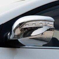 KOUVI ABS chrome car accessories rearview side mirror cover cap For 2010 11 12 13 14 15 Hyundai IX35 car styling