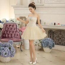 Über Knie-homecoming Kleider 2016 Einfache Mode Mini Short Abendkleid Formal Homecoming Kleider